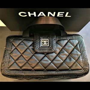 Authentic Chanel Small Duffle Bag
